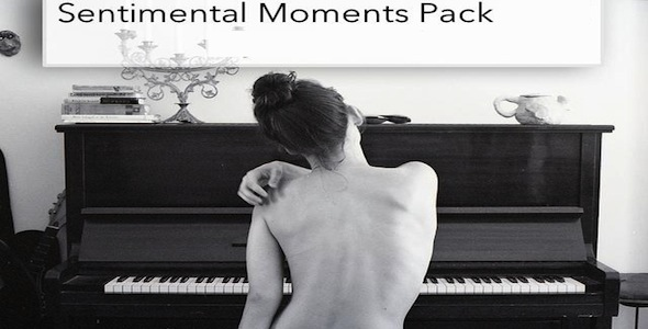 Sentimental music for romance and tender moments in film, documentaries, photo montages and home and wedding videos.