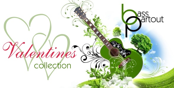 Perfect tracks to create the romantic musical atmosphere for Valentines Day or a Wedding.